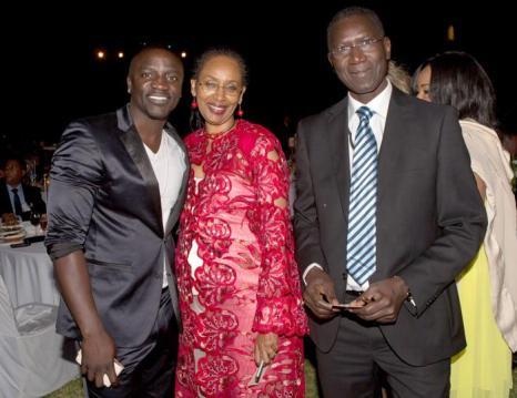 Рэпер Эйкон на вечере «Сделано в Африке». Фото: Didier Baverel/Getty Images for Made in Africa Foundation