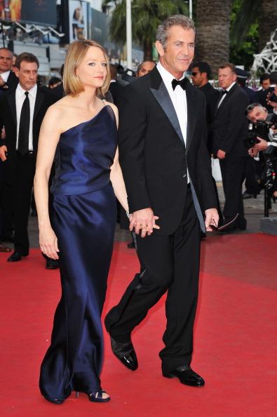 Мел Гибсон и Джоди Фостер на красной дорожке, 18 мая 2011, Канны, Франция. Фото: Pascal Le   Segretain/Getty Images