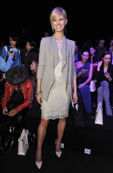 Российские звезды на Mercedes-Benz Fashion Week Russia в Москве Mercedes-Benz Russian Fashion Week 2011-2012. Фото: Pascal Le Segretain/Getty Images
