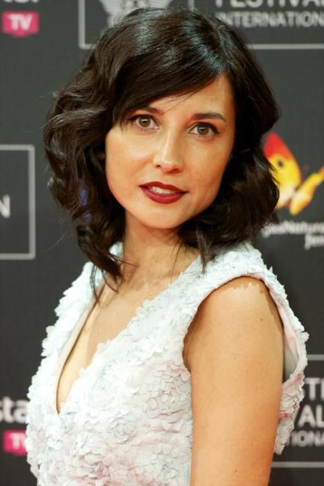 Испанская актриса Мариан Альварес. Модные причёски и укладки продемонстрировали знаменитости на самых ярких мероприятиях сентября 2013 года. Фото: Juan Naharro Gimenez/Getty Images