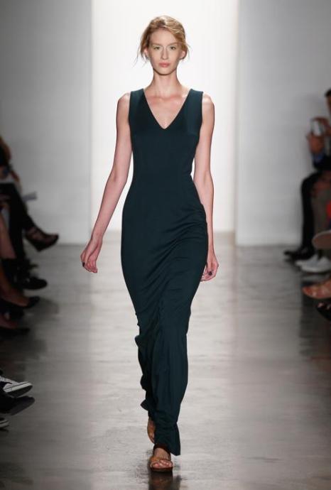 Дизайнеры Костелло и Тальяпьетра модного американского бренда Costello Tagliapietra представили новую коллекцию женской одежды весеннего сезона 2014 года в рамках Недели Моды в Нью-Йорке 5 сентября 2013 года. Фото: Peter Michael Dills/Getty Images