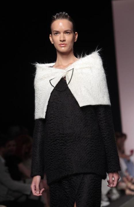 Петербургский дизайнер Леонид Алексеев представил женскую коллекцию на Неделе моды AltaRoma  в Риме. Фото: Villa Elisabetta/Getty Images