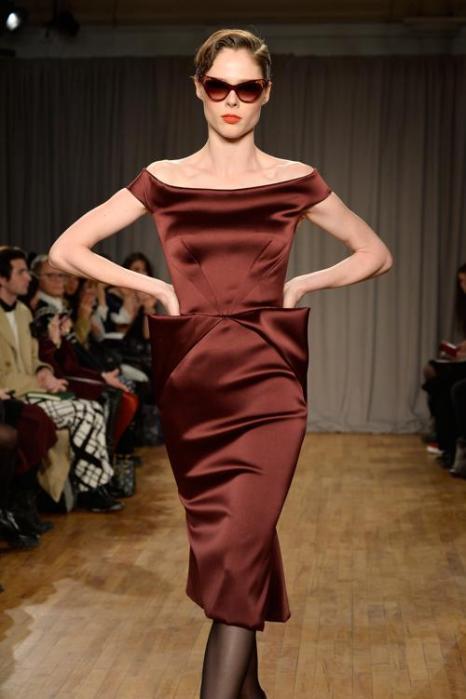 Коко Роша на показе коллекции женской одежды Zac Posen в Нью-Йорке 10 февраля 2014 года. Фото: Frazer Harrison/Getty Images for Mercedes-Benz Fashion Week