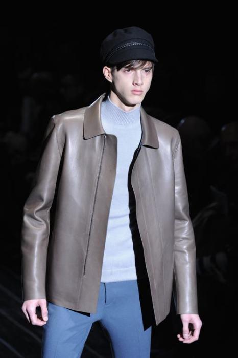 Креативный директор бренда Фрида Джаннини представила новую мужскую коллекцию одежды Gucci осень-зима 2014 на Неделе моды в Милане 13 января. Фото: Stefania DAlessandro/Getty Images