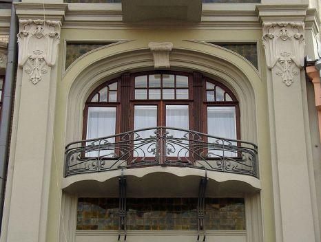 Фасад здания на Арбате. Фото: NVO/wikimedia.org
