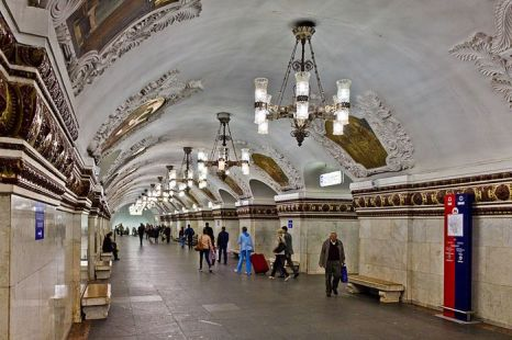 Станция метро Киевская. Фото: Antares 610/ wikimedia.org