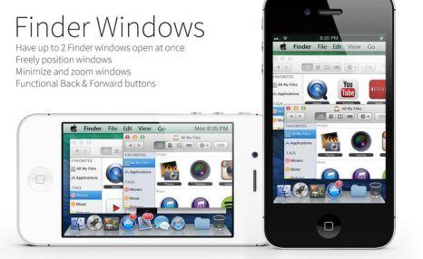 Mavericks Mini — тема для iPhone, превращающая ваш смартфон в карманный компьютер. Фото: mavericks-mini.com