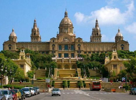 Национальный музей искусства в Барселоне. Фото Johannes Kern
