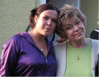 Внучка Эрика вместе с Эдитой Пьехой. Фото с сайта pravdapfo.ru