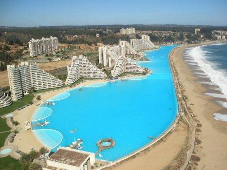 Самый большой бассейн в Чили. Фото с сайта www.farangforum.ru