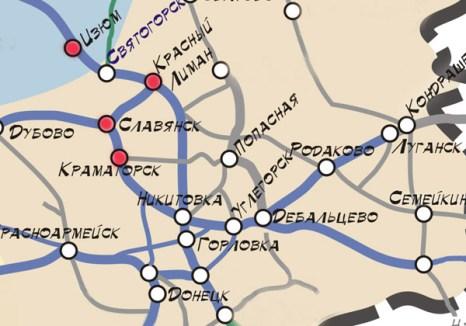 Маршрут Изюм-Краматорск. Фото с сайта zatramvaj.org