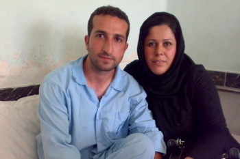 Надархани со своей женой Фатиме перед арестом. Фото: welt.de