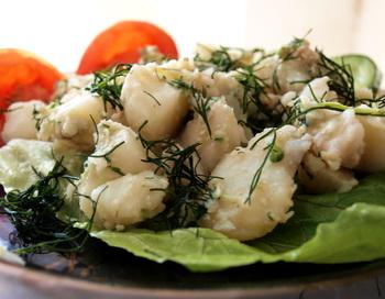 Худеем не голодая. Картофель отварной с орехами. Фото: Хава ТОР/Великая Эпоха