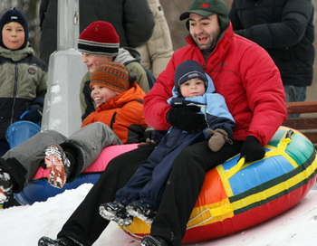 Зимний отдых москвичей. Фото из архива РИА Новости