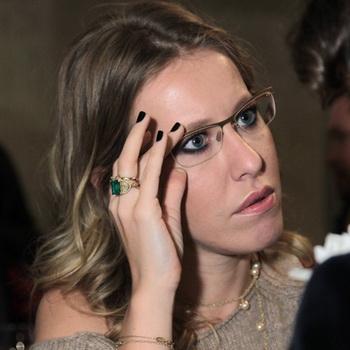 Телеведущая Ксения Собчак. Фото РИА Новости
