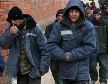 Трудовые мигранты. Фото РИА Новости