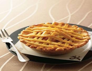 Яблочный пирог с кунжутом. Фото с epochtimes.com
