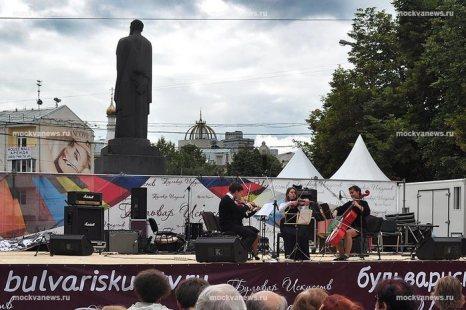Бульвар искусств, 2011.  Фото с сайта mockvanews.ru