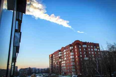 Челябинский метеорит. Фото: OLEG KARGOPOLOV/AFP/Getty Images