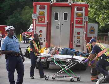 В США госпитализировано 25 учеников, отравившихся угарным газом. Фото: SAUL LOEB/AFP/Getty Images