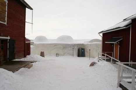 Снежный замок в маленьком городке Кеми на берегу Ботнического залива — эксклюзивная достопримечательность Финляндии. Фото: flickr.com/Iain Cuthbertson