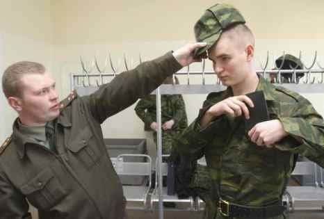 В армии. Фото: KIRILL KUDRJAVTSEV/AFP/Getty Images