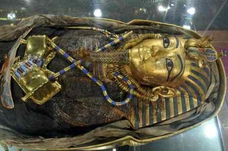 Саркофаг фараона. Фото: LENNART PREISS/AFP/GettyImages
