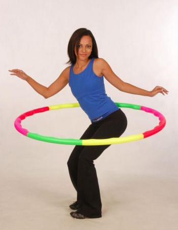 Спортивные обручи. Обрести тонус и потерять вес помогают тяжелые фитнес обручи. Фото: АРА.