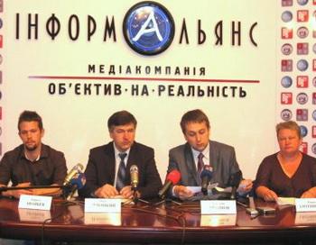26 мая в Киеве состоялась пресс-конференция, посвященная открытию международного штаба гражданского движения с громким именем «Антимент». Фото предоставлено пресс-службой Ассоциации Адвокатов России за Права Человека.