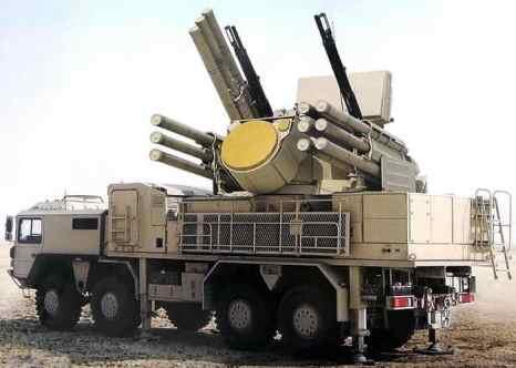 ЗРПК «Панцирь-С» активно используется для противовоздушной обороны. Фото: forum.kpe.ru