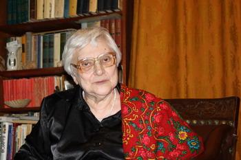 Энгелина Тареева, старейший блоггер. Фото: Ульяна КИМ/Великая Эпоха