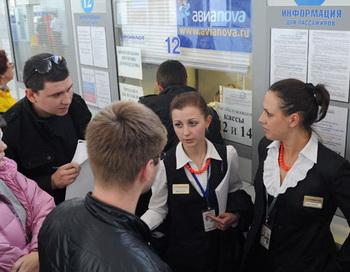 Авиакомпания-дискаунтер «Авианова» приостановила со 2 октября продажу билетов на свои рейсы. Фото РИА Новости