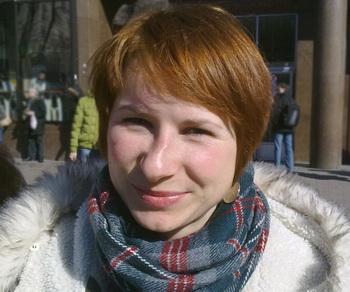 Анна Николаева, Киев, Украина. Фото: Великая Эпоха (The Epoch Times)
