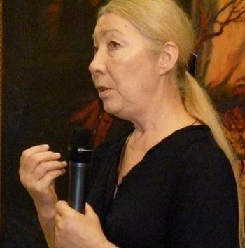 Нина Садур, драматург, Россия. Фото со странички Фейсбук Нины
