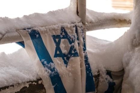 В Иерусалиме метёт. Фото: Хава Тор/Великая Эпоха (The Epoch Times)