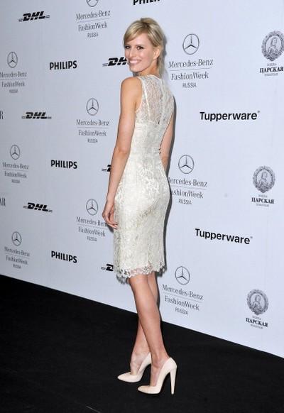Каролина Куркова - гость Mercedes-Benz Fashion Week Russia 2011, 1 апреля 2011, Москва, Россия. Фото: Pascal Le Segretain/Getty Images