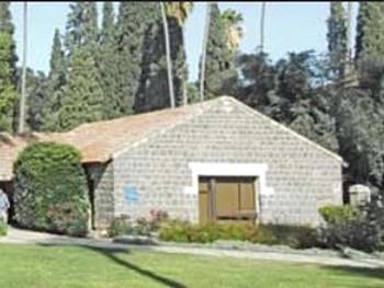 Один из старейших домов земледельческой коммуны Дгания все еще существует. Фото предоставлено колледжем