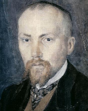 Портрет художника Н.К. Рериха, 1907 года живописи Александра Головина. Фото с сайта www.museum-online.ru