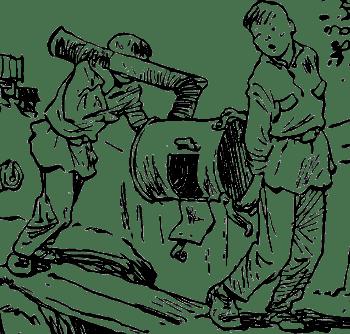 Как мы с Вовкой собирали металлолом. Фото с сайта lib.rus.ec
