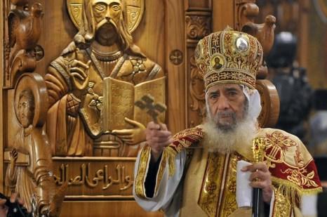 Рождество Христово. Рождественская служба в Египте.Фото: AFP/Getty Images