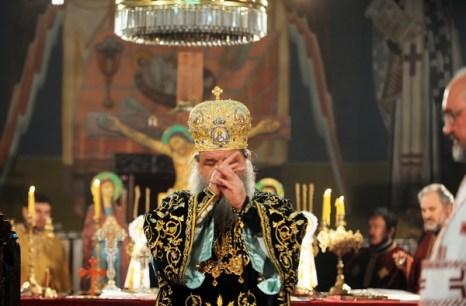 Рождество Христово. Рождественская служба в Македонии, Скопье. Фото:  ROBERT ATANASOVSKI/AFP/Getty Images