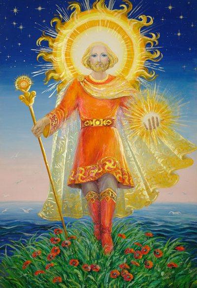 День похищений. Ярило-Солнце. Бог - Покровитель Светлых помыслов, чистого Сердца и нашего светила. Благодаря энергии Тепла и Света, что даёт нам всем Ярило-Солнце, и возможна сама жизнь на Земле. Поэтому нужно всегда об этом помнить, и слать Ему свою любовь и благодарение. Фото с сайта  liveinternet.ru