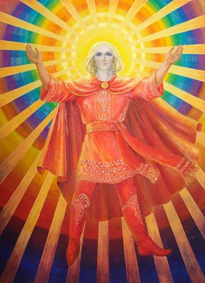 День похищений. Даждьбог, сын Перуна, Бог - хранитель Великой Мудрости. Назван Даждьбогом (дающим Богом) за то, что дал людям девять книг, содержащих Священные Веды. В