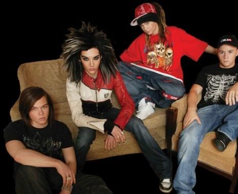 Группа Tokio Hotel. Фото сайта tokiohotel.ru