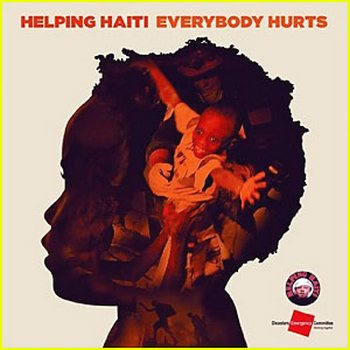 Cингл Everybody Hurts для Гаити. Фото с сайта  cdn.buzznet.com