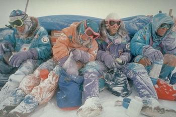 Музей Антарктиды. Завтрак в походе. Фото с сайта  vppress.ru