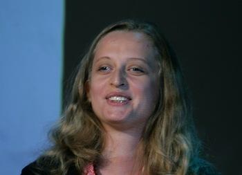 Анна Яблонская, драматург, став жертвой теракта, не успела  получить премию за сценарий «Язычники». Фото с сайта dramaturg.org