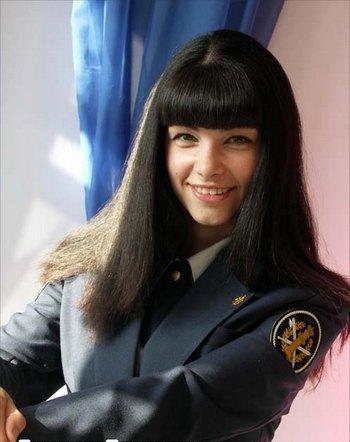 Екатерина Ламсаргис завоевала титул «Мисс Стиль» в конкурсе «Мисс УИС-2010». Фото с сайта uin.gov12.ru