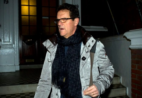 Fabio Capello.  Фото:  CARL COURT/AFP/Getty Images