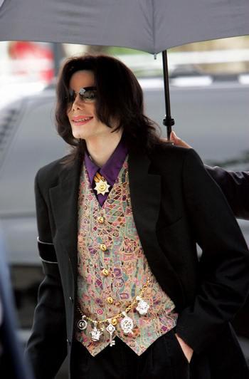 Майкла Джексон. Фото: ROBYN BECK/AFP/Getty Images